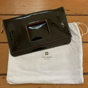 Kate Spade Patent Leather Foldable Clutch